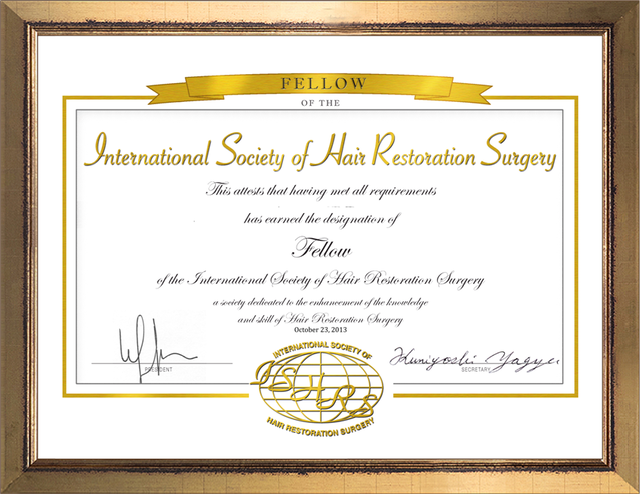 ISHRS Fellow Member